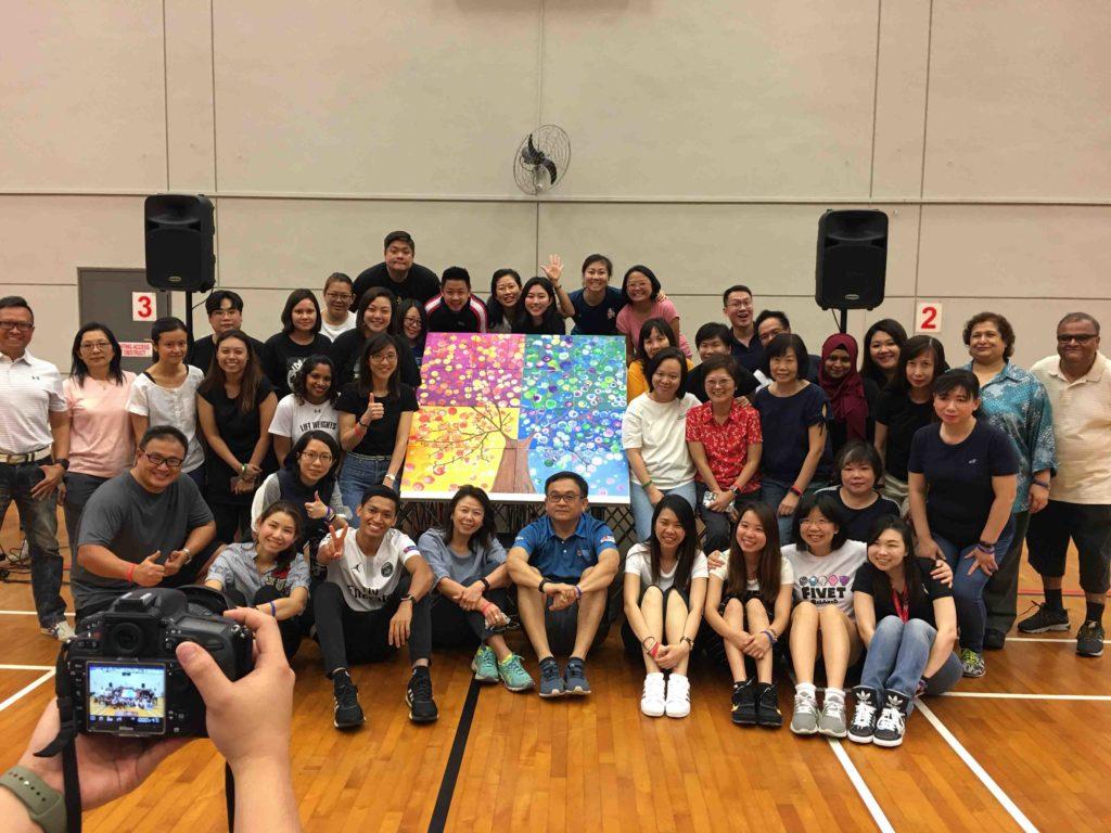 art jam big picture team building event