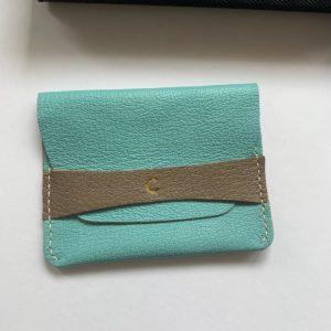 Leather craft cardholder