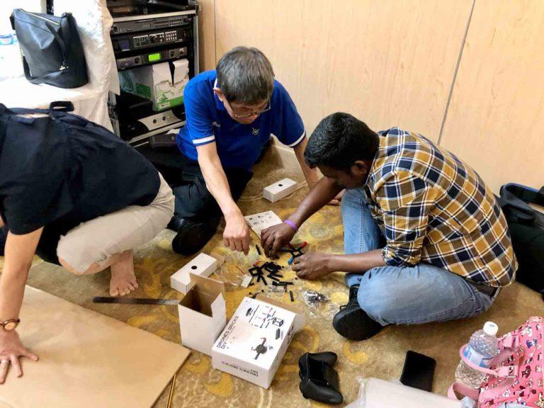 drone team building