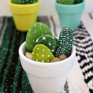 Pebble Cactus DIY Kit
