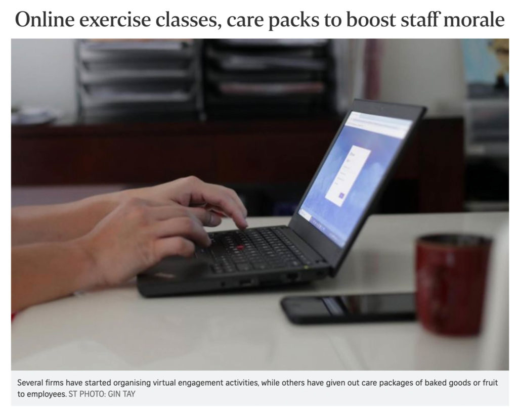 Online Team Building to Boost Staff Morale