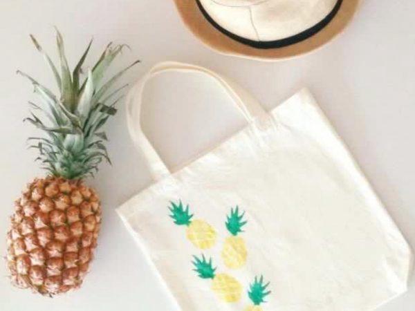 Tote bag painting diy kit standard package